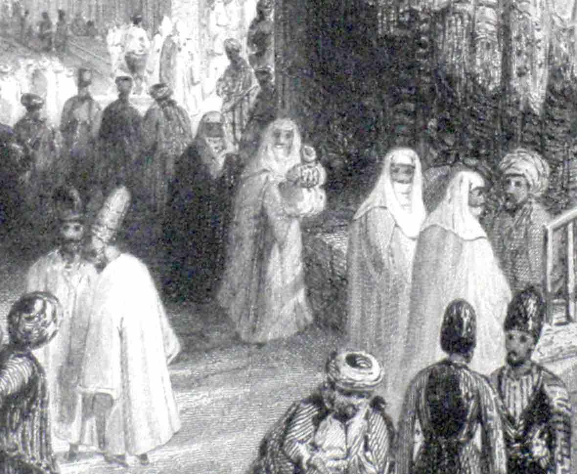 Ottoman woman in public