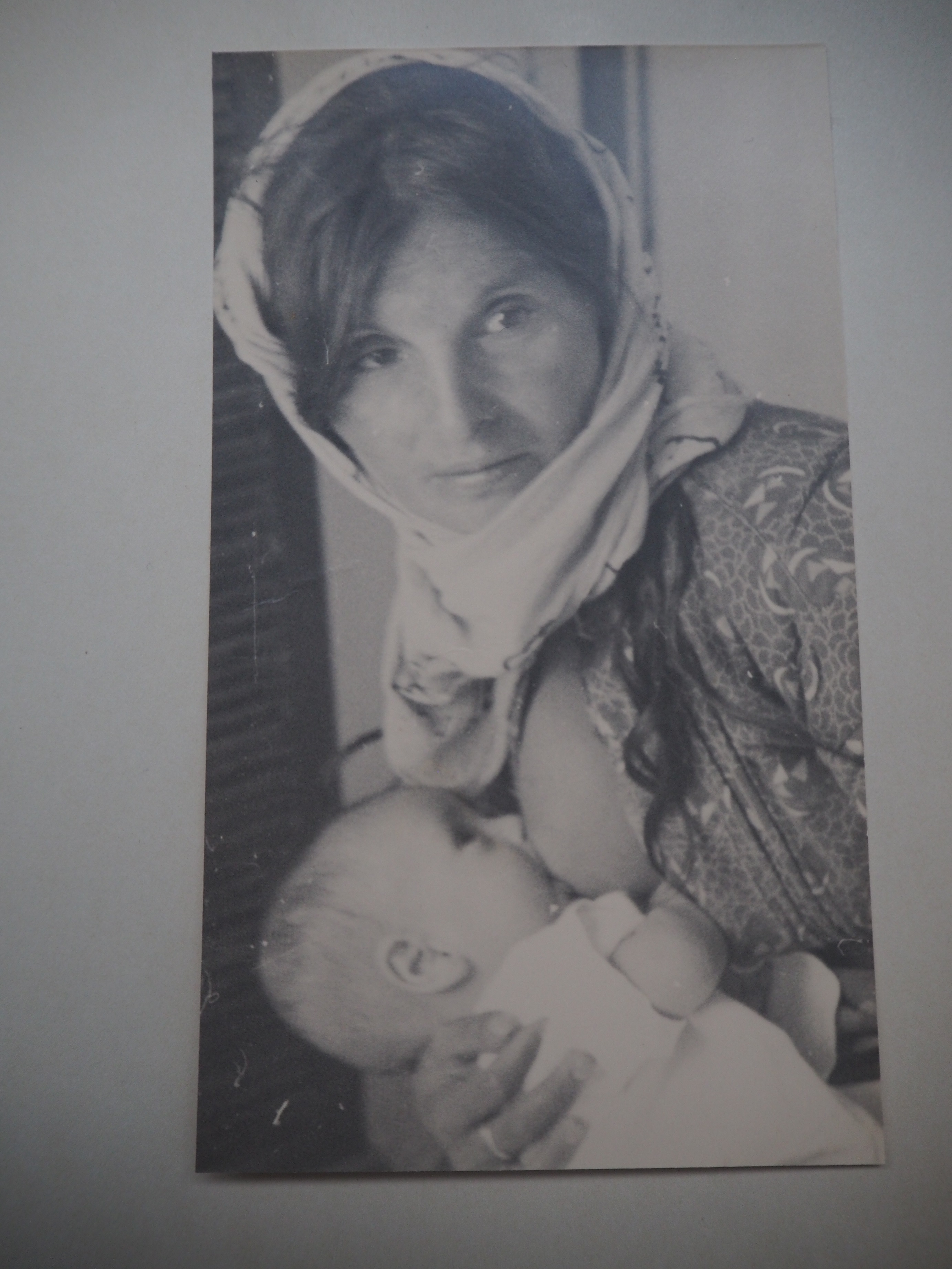 Eckstein Albums breastfeeding woman and infant