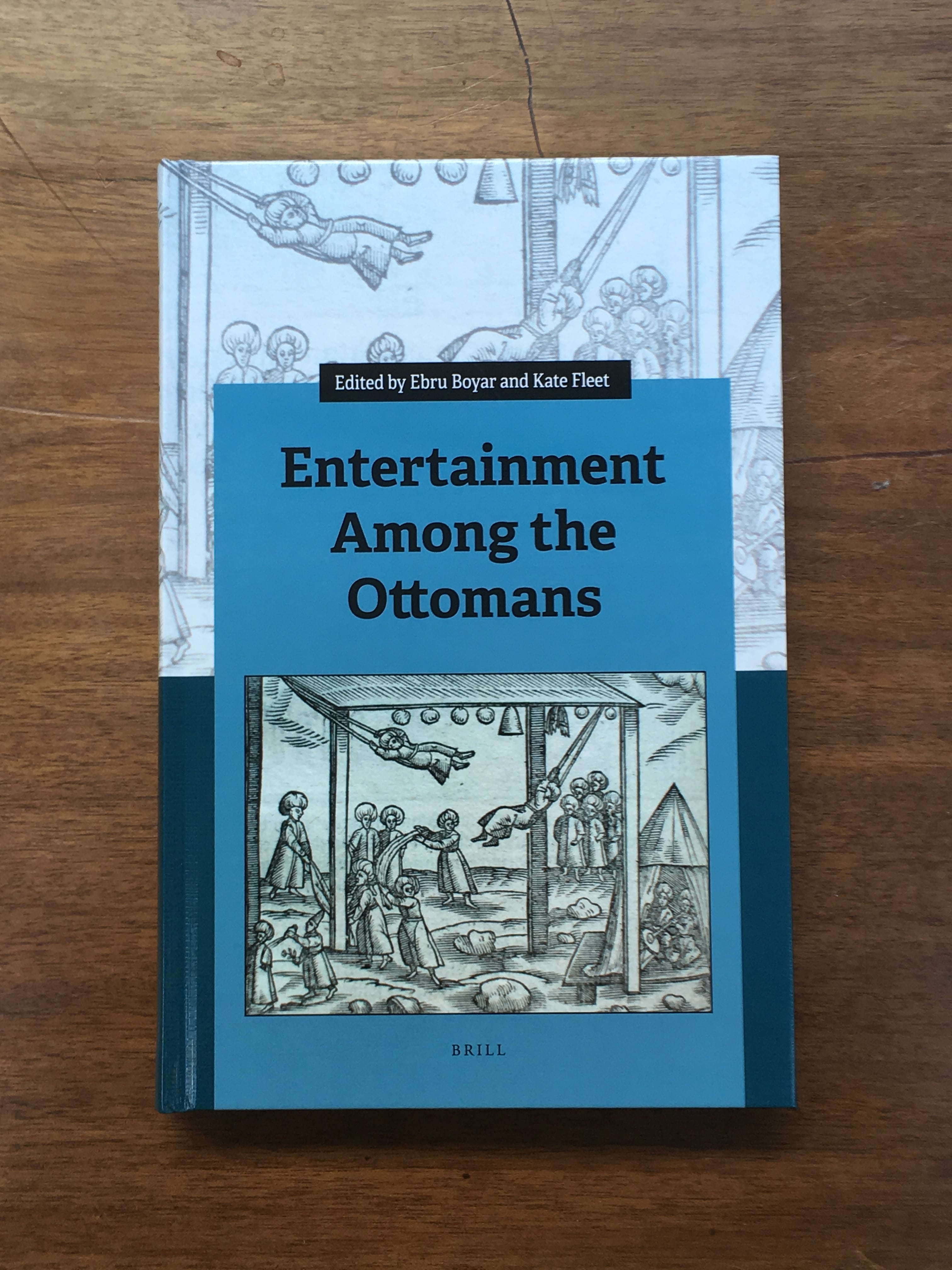 Entertainment among the Ottomans Book cover